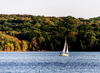 Sailing Away On Percy Priest Lake