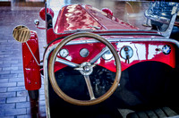 Inside view of a 1929 BMW IHLE 600