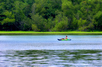 Kayaking Couchville Lake