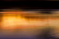 Sunset Abstraction Harpeth River