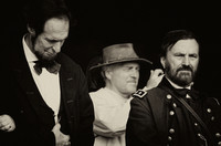 Abraham Lincoln And Ulysses S Grant Watching Wedding Tennessee History Festival