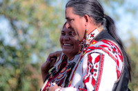 Couple during Native two step dance Tennessee State Powwow