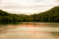Warm calming waters of Radnor Lake Nashville TN