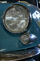 Headlights on a 1959 Citroen ID 19 Saloon Lane Motor Museum